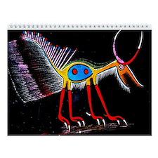 2015 African Tribal Art Wall Calendar
