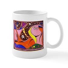 African Fantasy Tribal Art Mug