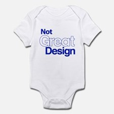 Unique White plain Infant Bodysuit
