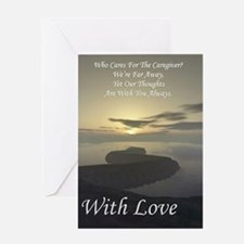 caregiver Greeting Card