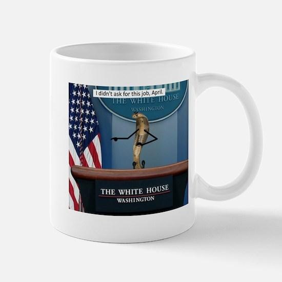 Press Snekretary Mugs