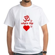 OM is where the heart is - Shirt