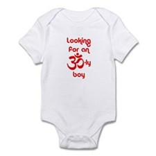 Looking for an OM-ly boy - Infant Bodysuit