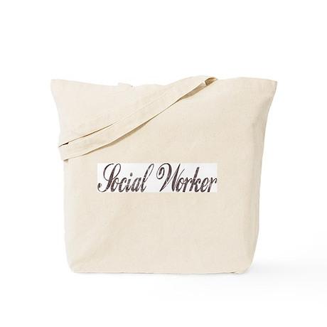 Vintage Social Worker Tote Bag