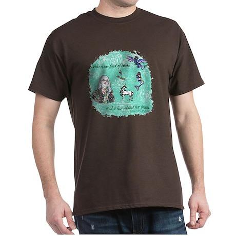Too Fond of Books Dark T-Shirt