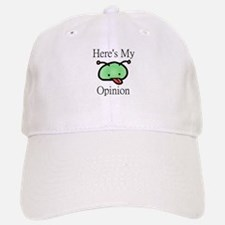 Here's My Opinion Alien Baseball Baseball Cap