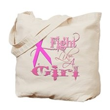 Fight Like A Girl Breast Canc Tote Bag