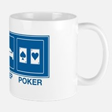 Eat Sleep Poker Mug