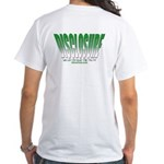 Disclosure (Green) White T-Shirt