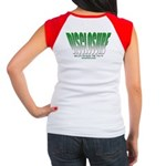 Disclosure (Green) Women's Cap Sleeve T-Shirt