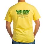 Disclosure (Green) Yellow T-Shirt