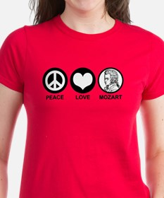 Peace Love Mozart Tee