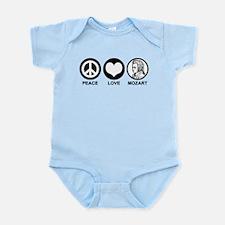 Peace Love Mozart Infant Bodysuit