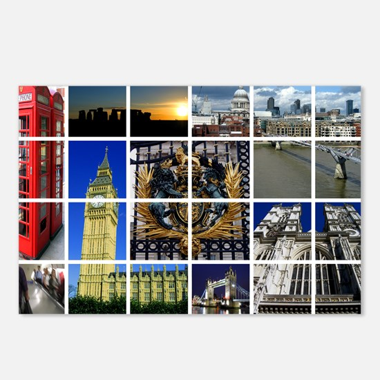Unique Tower london london england Postcards (Package of 8)