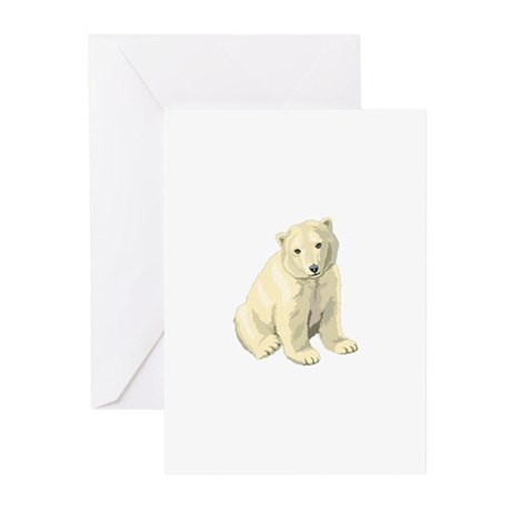 Polar Bear Gift Greeting Cards (Pk of 20)