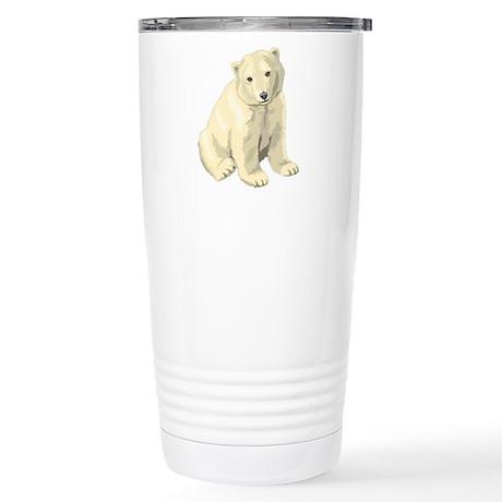 Polar Bear Gift Stainless Steel Travel Mug
