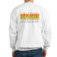 Disclosure Project (orange) Sweatshirt