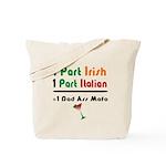 Part Irish Part Italian Tote Bag