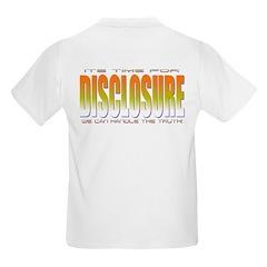 Disclosure Project (orange) Kids T-Shirt