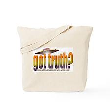 Disclosure Project (orange) Tote Bag