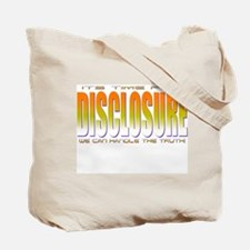 Disclosure Project (orange) Tote Bag