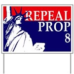 Repeal Prop 8 Yard Sign