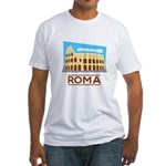 Rome Coliseum Fitted T-Shirt