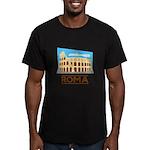 Rome Coliseum Men's Fitted T-Shirt (dark)