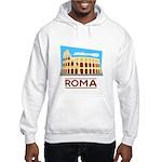 Rome Coliseum Hooded Sweatshirt