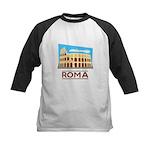 Rome Coliseum Kids Baseball Jersey