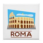 Rome Coliseum Tile Coaster