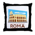 Rome Coliseum Throw Pillow