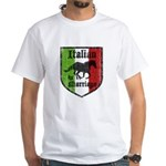 Italian by Marriage Vintage White T-Shirt