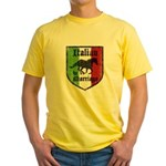 Italian by Marriage Vintage Yellow T-Shirt