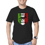 Italian by Marriage Vintage Men's Fitted T-Shirt (