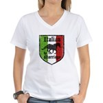 Italian by Marriage Vintage Women's V-Neck T-Shirt
