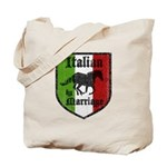 Italian by Marriage Vintage Tote Bag