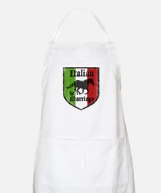 Italian by Marriage Vintage BBQ Apron