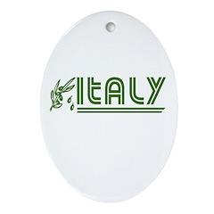 Retro Italy Oval Ornament