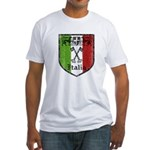 Italian Crest Fitted T-Shirt