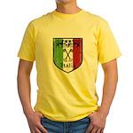 Italian Crest Yellow T-Shirt