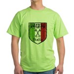 Italian Crest Green T-Shirt