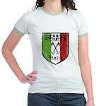 Italian Crest Jr. Ringer T-Shirt