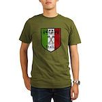 Italian Crest Organic Men's T-Shirt (dark)