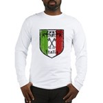 Italian Crest Long Sleeve T-Shirt