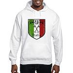 Italian Crest Hooded Sweatshirt