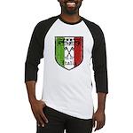 Italian Crest Baseball Jersey