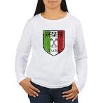 Italian Crest Women's Long Sleeve T-Shirt
