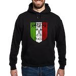 Italian Crest Hoodie (dark)