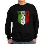 Italian Crest Sweatshirt (dark)